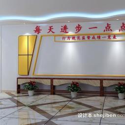 学校文化墙设计效果图库大全