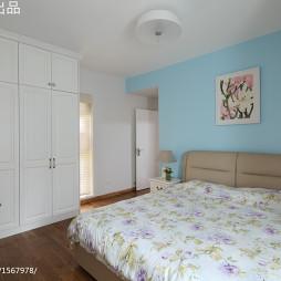 现代简约卧室衣柜装修设计
