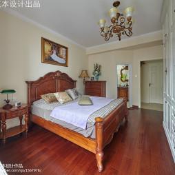 欧式古典风格卧室实木家具装修设计