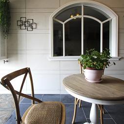 美式简约花园装修设计