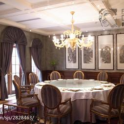 混搭风格中餐厅装修设计效果图