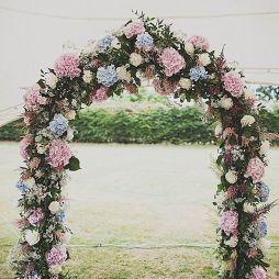 鲜花拱门效果图集大全