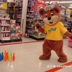 玩具商场效果图图库