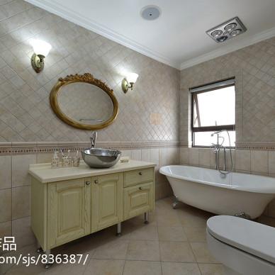白水泉浴室柜效果图大全