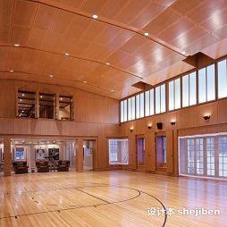 篮球场木地板效果图图集