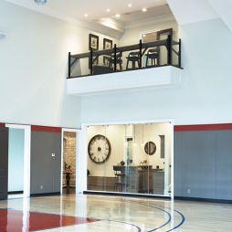 篮球场木地板效果图片大全