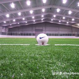 室内足球场效果图图片