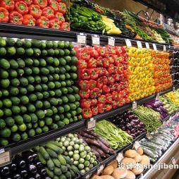 水果蔬菜超市效果图