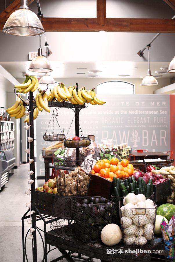 水果蔬菜超市效果图图库