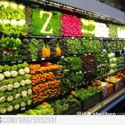 水果蔬菜超市效果图片欣赏