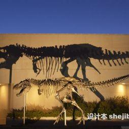 恐龙博物馆效果图库