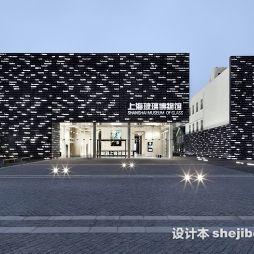 上海玻璃博物馆效果图图库