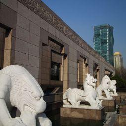 上海博物馆效果图图集