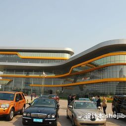 上海汽车博物馆效果图