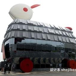 上海世博展览馆效果图