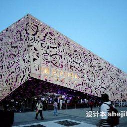 上海世博展览馆效果图片欣赏
