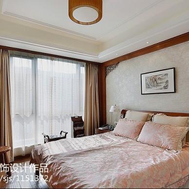 中式风卧室设计效果图