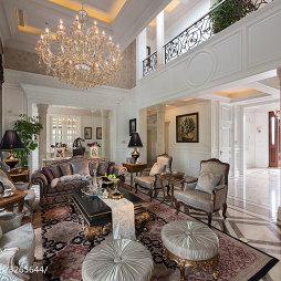 欧式别墅客厅效果图片