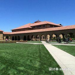 斯坦福大学图书馆效果图集