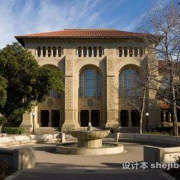 斯坦福大学图书馆效果图图库