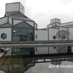 苏州博物馆效果图图库
