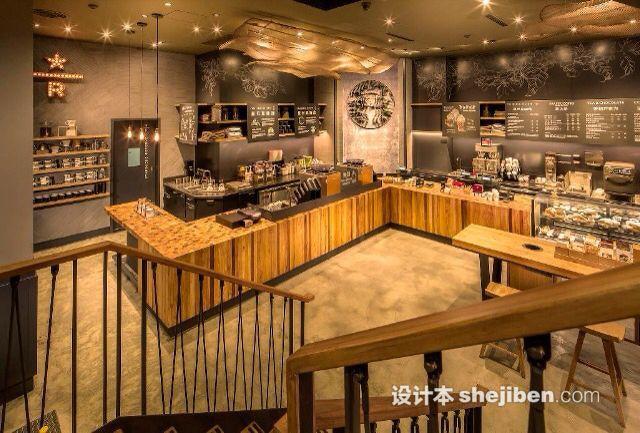 星巴克咖啡店效果图_星巴克咖啡店效果图图库 – 设计本装修效果图