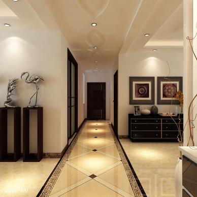 客厅走廊吊顶装修效果图集欣赏