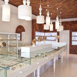 珠宝展柜设计图欣赏