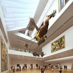 中国美术馆效果图图片