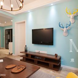 2017现代简约客厅设计装修图片大全
