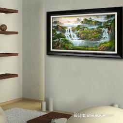中国油画效果图