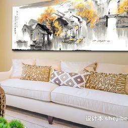 中国油画效果图集