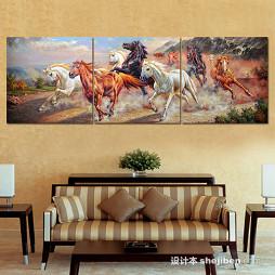中国油画效果图欣赏