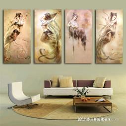 中国油画效果图集欣赏