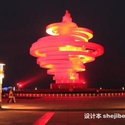 灯光雕塑效果图集欣赏