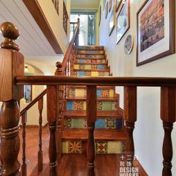 田园风格楼梯装修图片