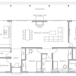农村平房房屋设计图效果图图片