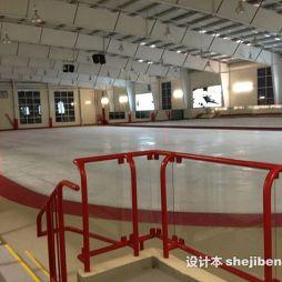 室内溜冰场设计效果图库
