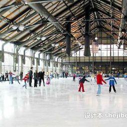 室内溜冰场设计效果图片欣赏