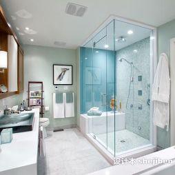 整体浴房效果图大全欣赏