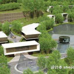 酒店景观设计效果图片大全