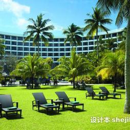 酒店景观设计效果图集大全