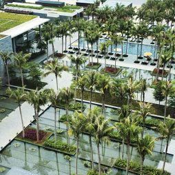 酒店景观设计效果图库欣赏