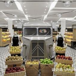 精品超市货架效果图
