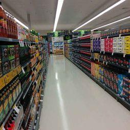 精品超市货架效果图片