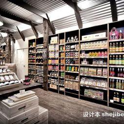 精品超市货架效果图库
