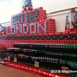 超市创意陈列效果图图片