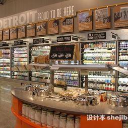 超市展示柜效果图片欣赏