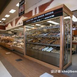 超市展示柜效果图库欣赏
