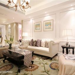 欧式客厅家装设计图片展示